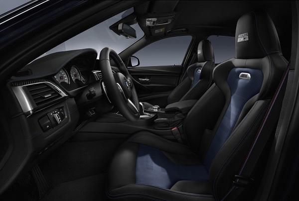 interior BMW M3 30 Years