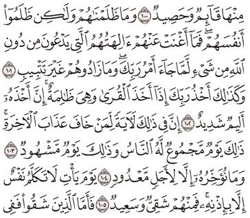 Tafsir Surat Hud Ayat 101, 102, 103, 104, 105