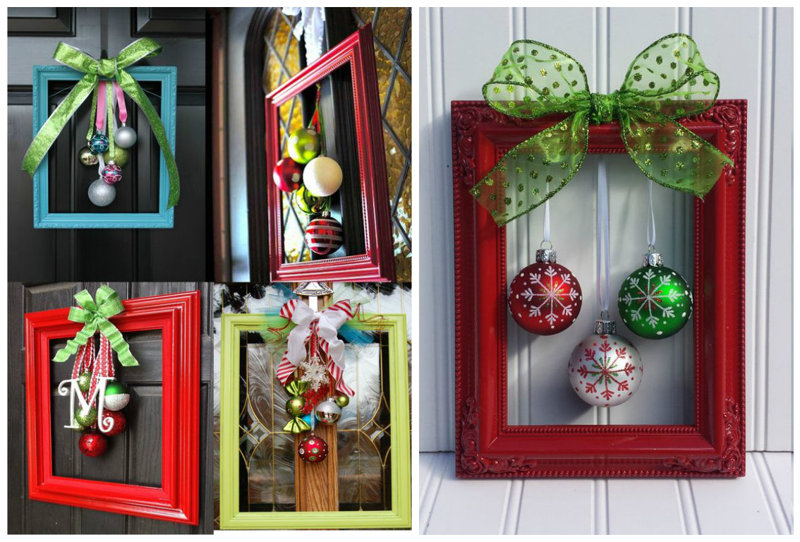 9 manualidades decorativas usando esferas navide as - Centro de mesa navideno manualidades ...