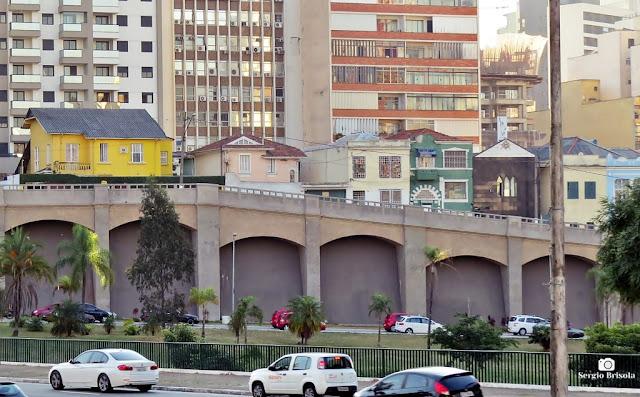Foto da parte mais alta dos Arcos do Bixiga ou Arcos do Jânio - Bela Vista - São Paulo