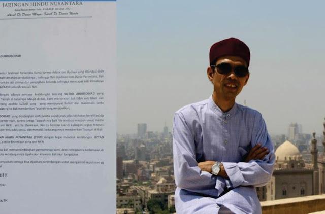 Intoleran! Jaringan Hindu Nusantara Resmi Tolak Kehadiran Ust Abdul Shomad di Bali