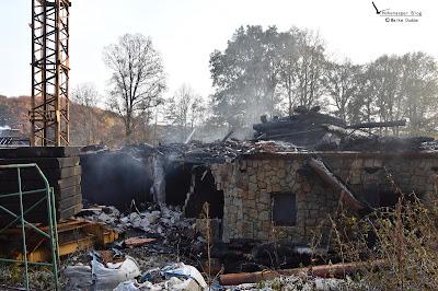 Feuer vernichtete Lebenstraum