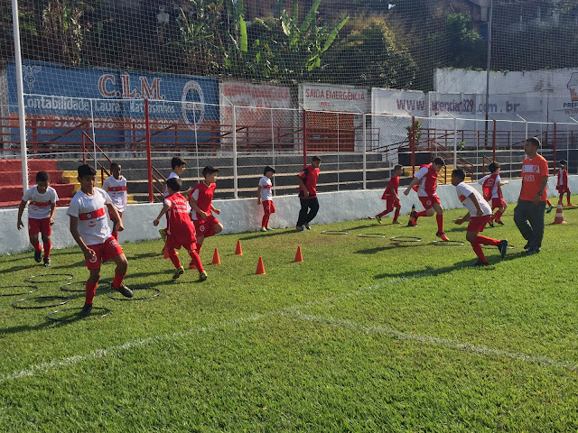O Guarani comemora hoje (05) um ano da Escola de Futebol Bugrinho