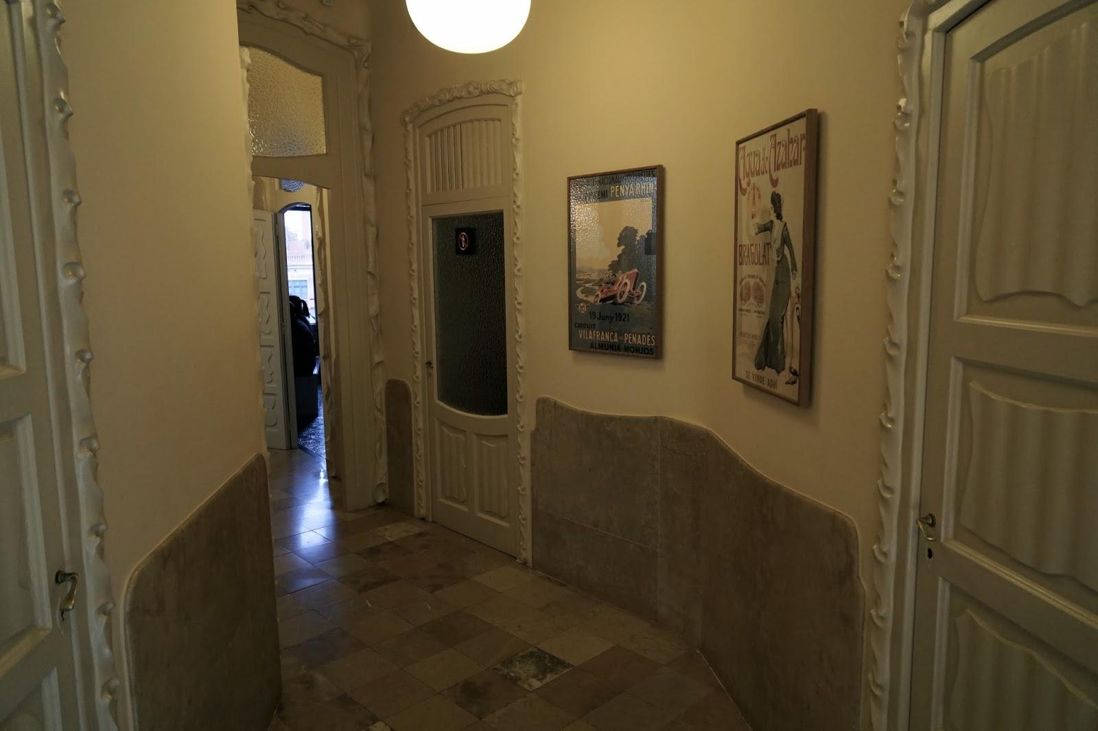 カサ・ミラ(Casa Milà)の住居部分