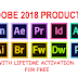 Adobe 2018 Products with Premium Activation