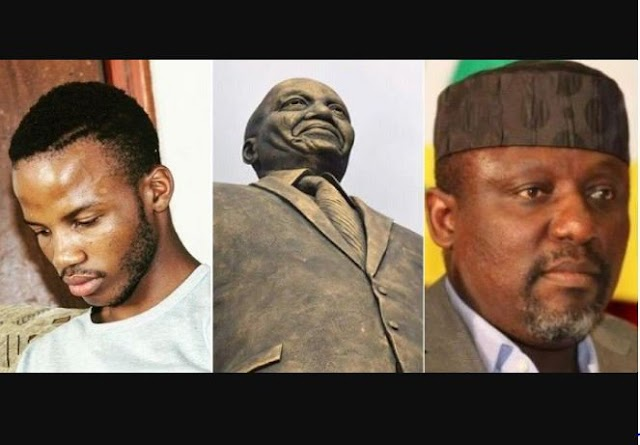 Governor Okorocha's Aide Reveals The Cost Of The Controversial 8 Statues In Imo (Photo)
