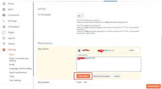 Bagaimana Cara Mengganti Email Blogspot