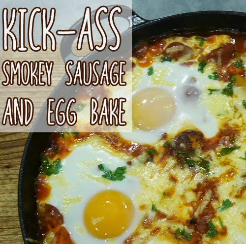 Saturday, April 4 Kick-ass smokey sausage and egg bake Author ...