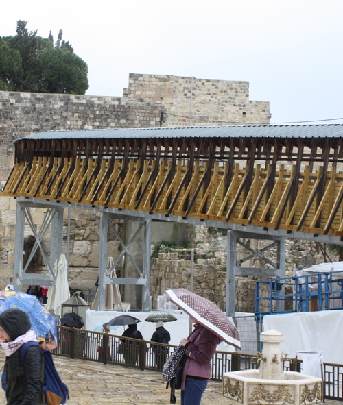 bridge to temple mount