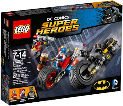Suicide Squad DC Comics Super Heroes LEGO Set - Batman: Gotham City Cycle Chase