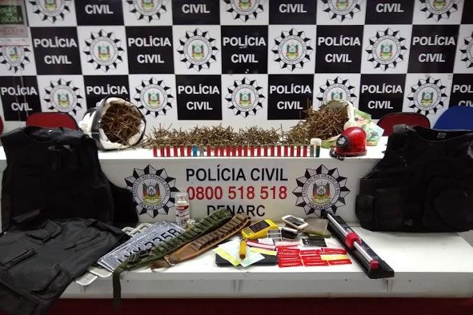 Polícia Civil estoura sítio que era usado para clonar veículos em Cachoeirinha