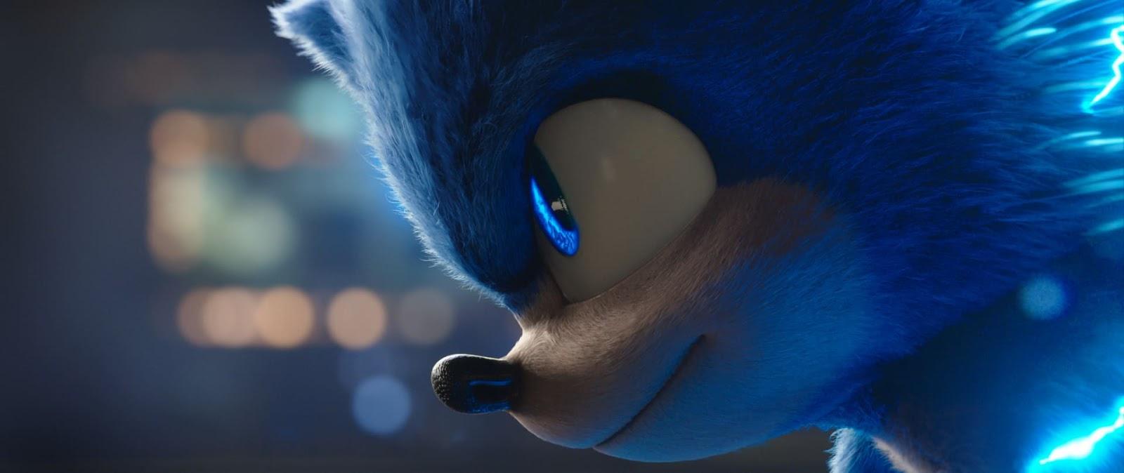 Venda antecipada Sonic - O Filme