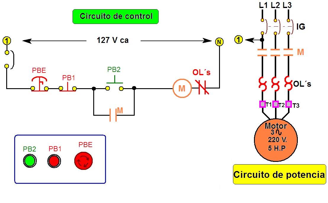 coparoman diagramas de circuitos el ctricos de control con bot n de rh coparoman blogspot com diagramas de circuitos electricos automotrices diagramas de circuitos electricos en serie y paralelo