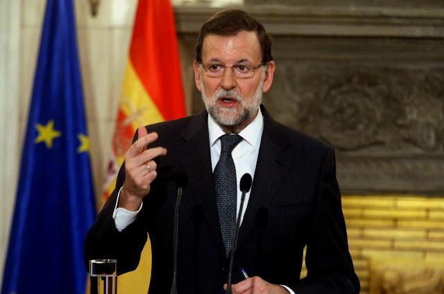 Ο Ραχόι καθαιρεί την Καταλανική κυβέρνηση