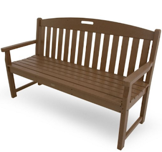 Tree House Trex 60-Inch Yacht Club Bench