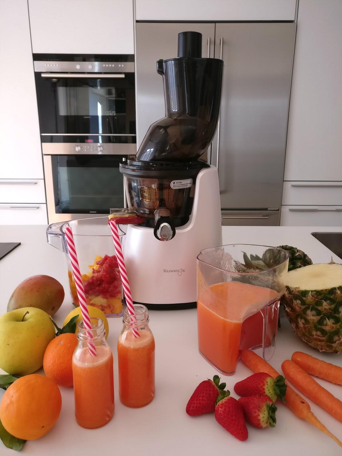 faites le plein de vitamines avec trois recettes de jus de fruits et l gumes l 39 extracteur. Black Bedroom Furniture Sets. Home Design Ideas