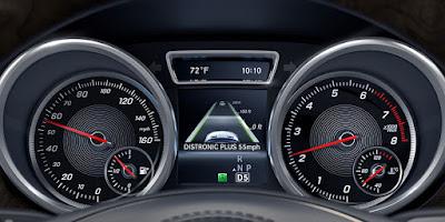 2016 Mercedes GLS 400 4MATIC speed mitor