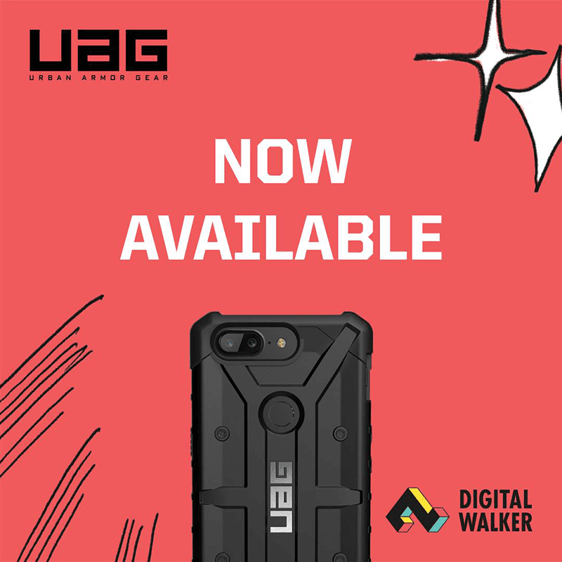 OnePlus 5T UAG Pathfinder case now available at Digital Walker!