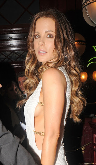 Actress, Model, @ Kate Beckinsale - outside Lou Lou's in London