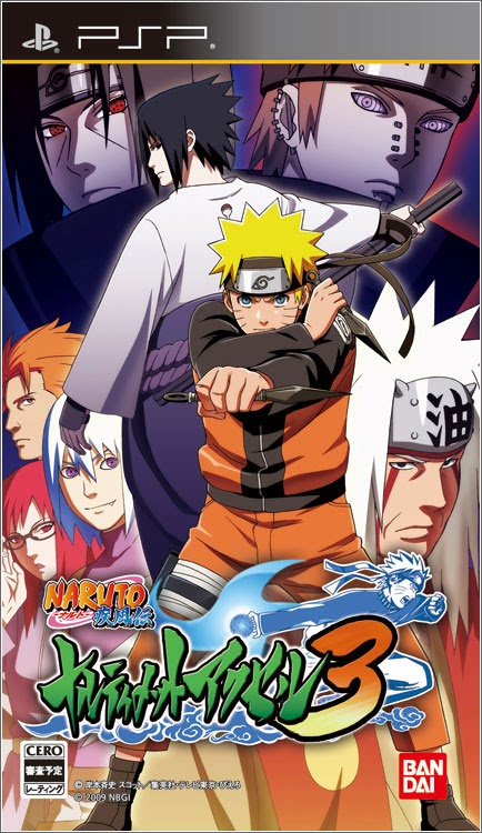 Game Naruto Shippuden Narutimate Accel 3 For Android Apk 2015 Cover Logo