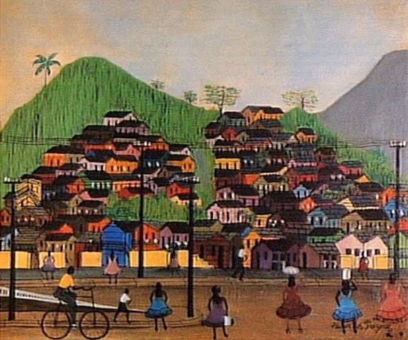 Favela - Heitor dos Prazeres ~ O pintor das favelas carioca