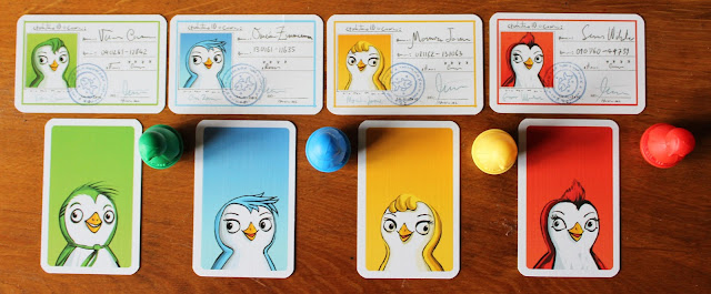 Ice Cool - penguin ID cards