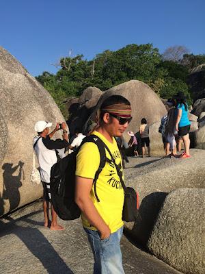 Batu Granit - Pantai Tanjung Tinggi