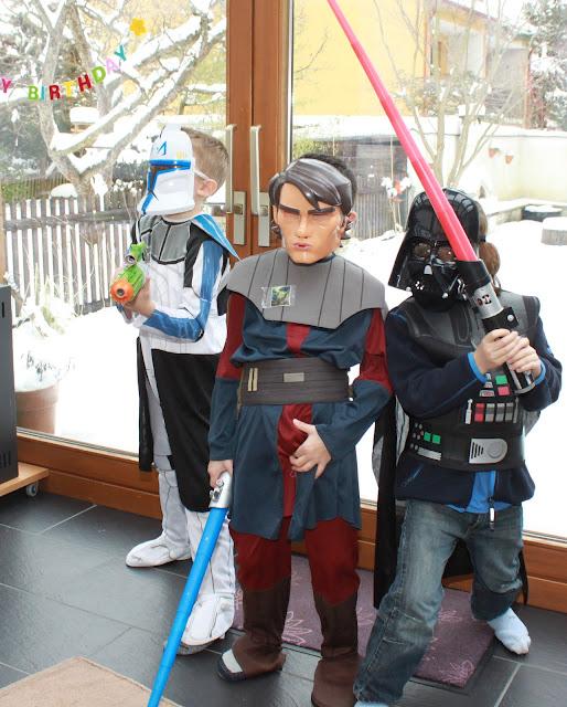 Star Wars Geburtstagsspiele für drinnen