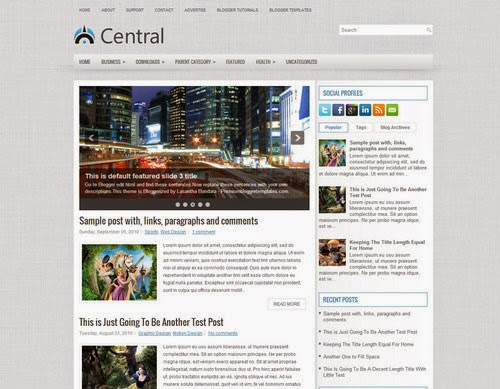 Central Blogger