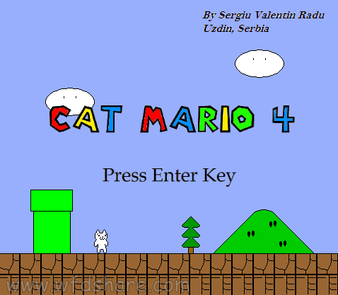 cat mario portable pc