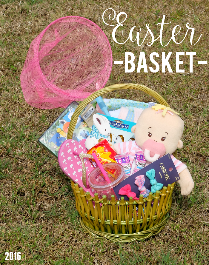 little girl Easter basket ideas
