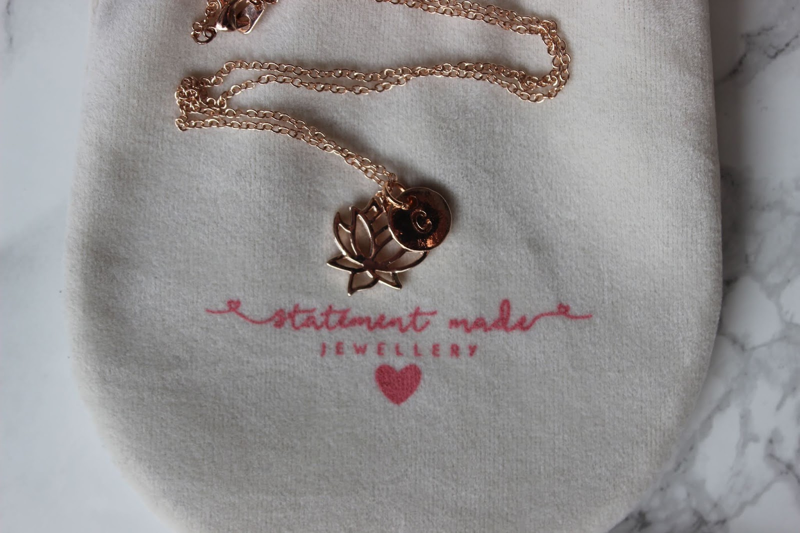 Statement Made Jewellery Personalised Necklace