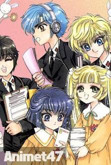 Đội thám tử học viện Clamp -Clamp School Detectives - Anime Đội thám tử học viện Clamp 1997 Poster