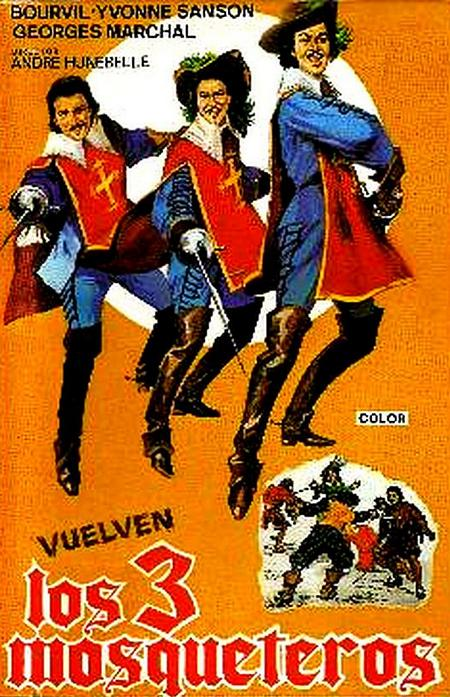 les 3 mousquetaires 1953
