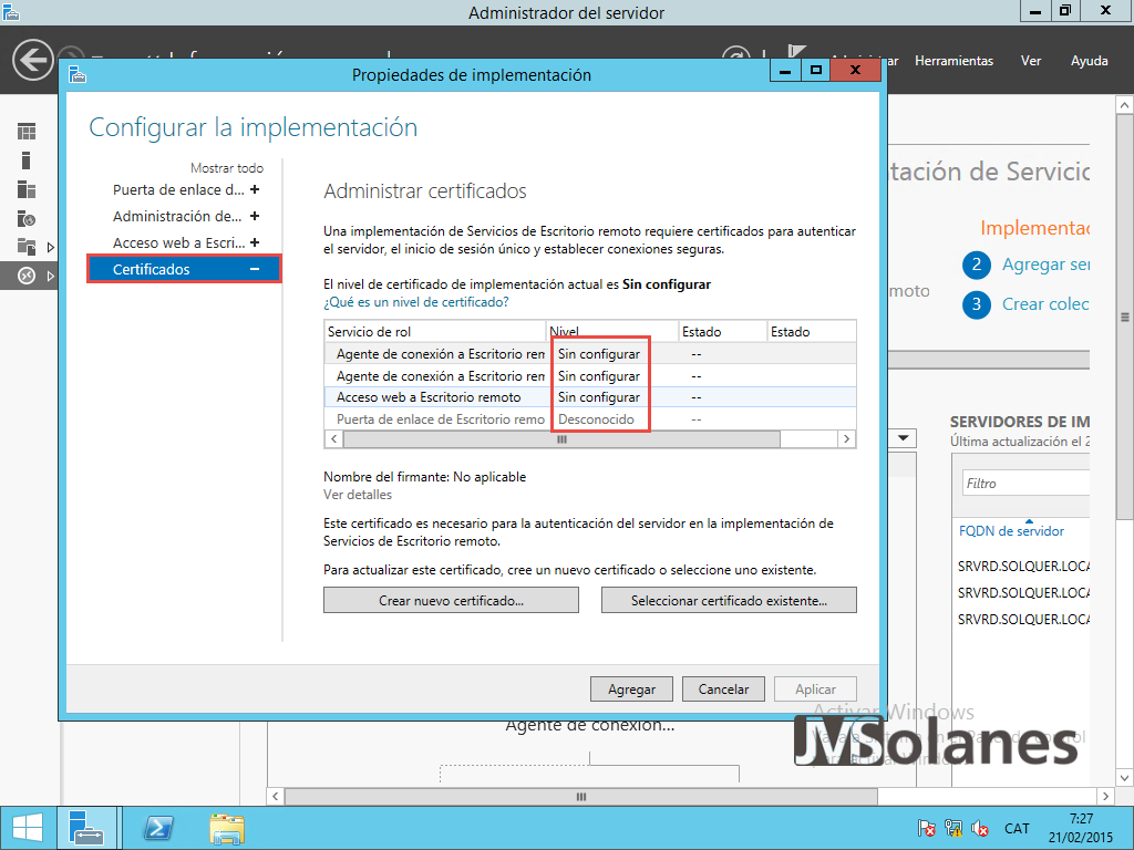 Hazlo tu mismo: RemoteApp Publicar desde windows Server 2012