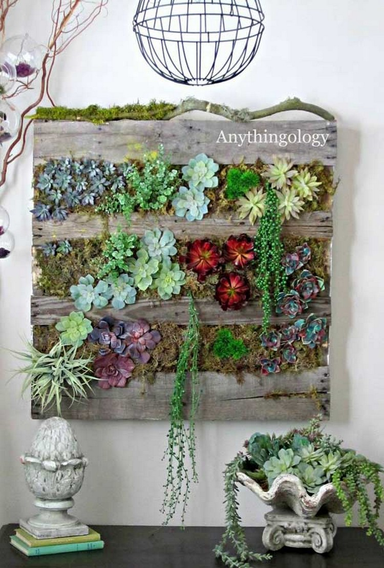 25+ Recycled Pallet Wall Art Ideas for Enhancing Your ...