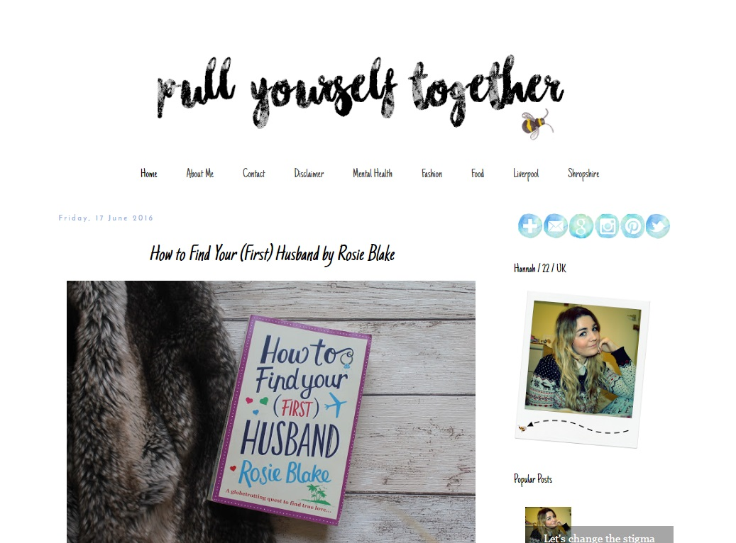How to have a successful blog, Pull Yourself Together