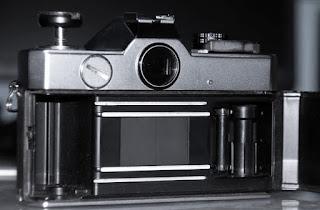 Fujica ST801 tampak dalam