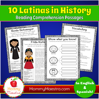 10 Latinas in History from MommyMaestra