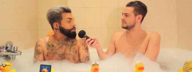 Lucas (Friends Trip 2) dans le bain de Jeremstar - INTERVIEW