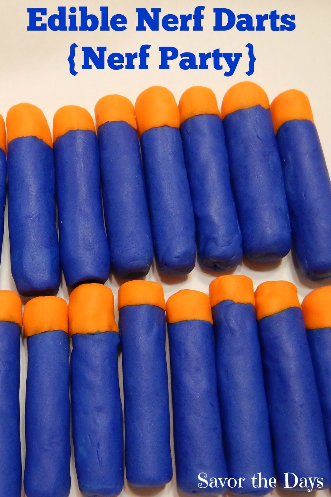 savor the days how to make edible nerf darts nerf party
