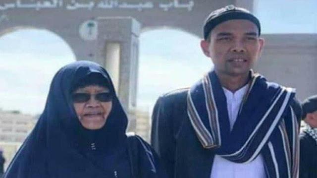 Kabar Duka! Ibu Ustadz Abdul Somad Meninggal Dunia
