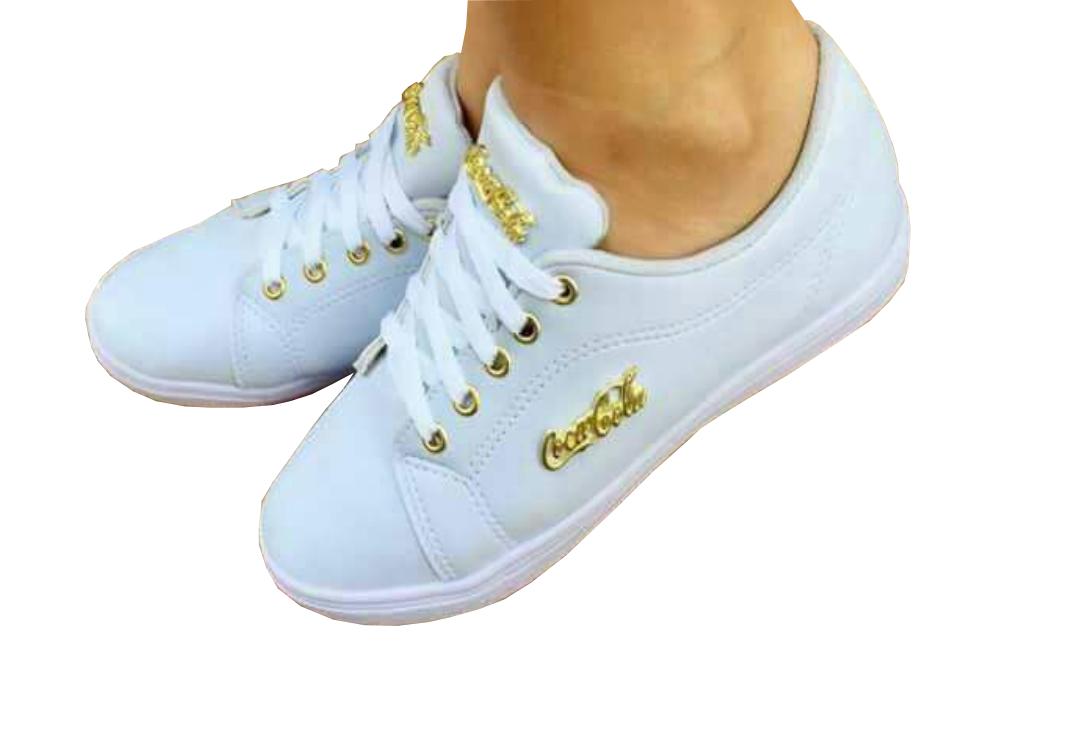 389aa67fec1 Donma Calçados  Tênis coca-cola - Moda casual aos seus pés!