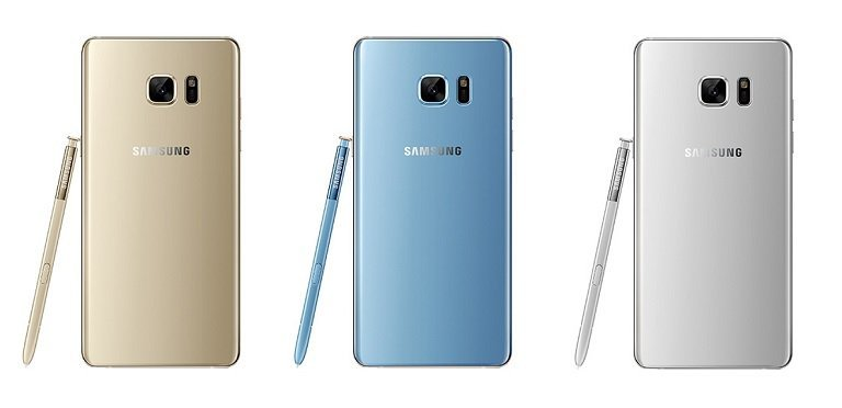 Samsung Galaxy Note 7 Back