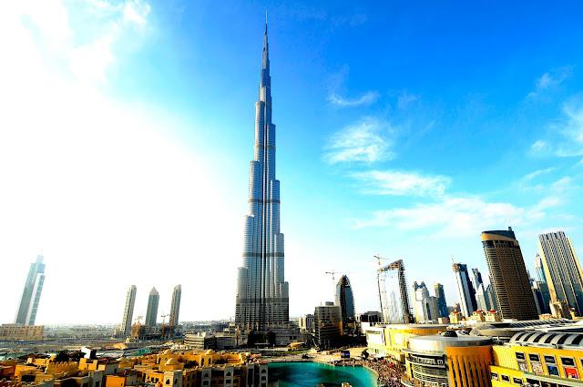 ve may bay di dubai - Burj Khalifa