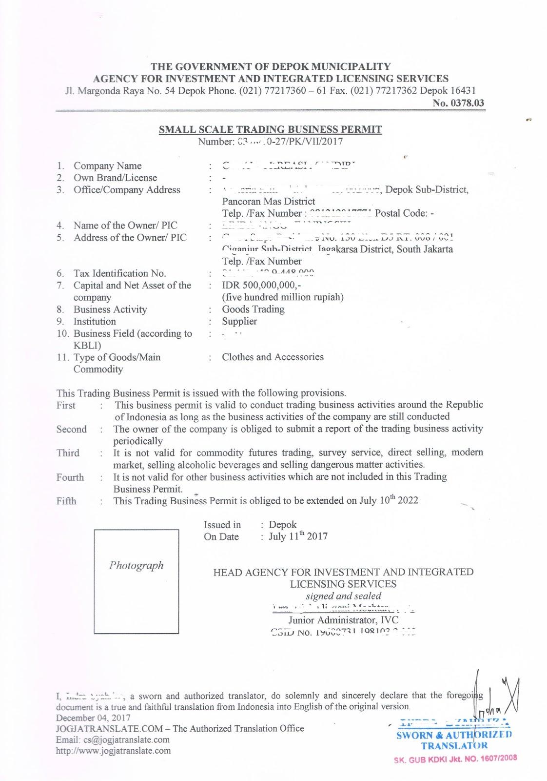 4 Info 3 Contoh Surat Pesanan Dalam Bahasa Inggris