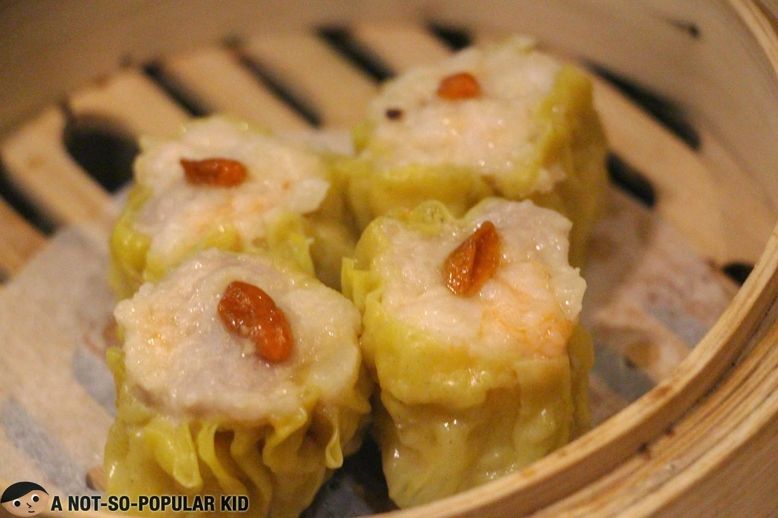 Pork Dumpling with Shrimp (or commonly termed as Shrimp Siomai) of Tim Ho Wan