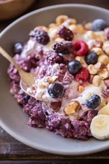 Berry Oatmeal Recipe