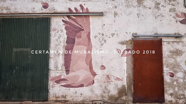 Juzbado, muralismo, murales, certamen 2018, Libro abierto