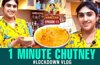 1 Minute Instant Magic Chutney | Cook with VV | Episode 11 | Vanitha Vijaykumar
